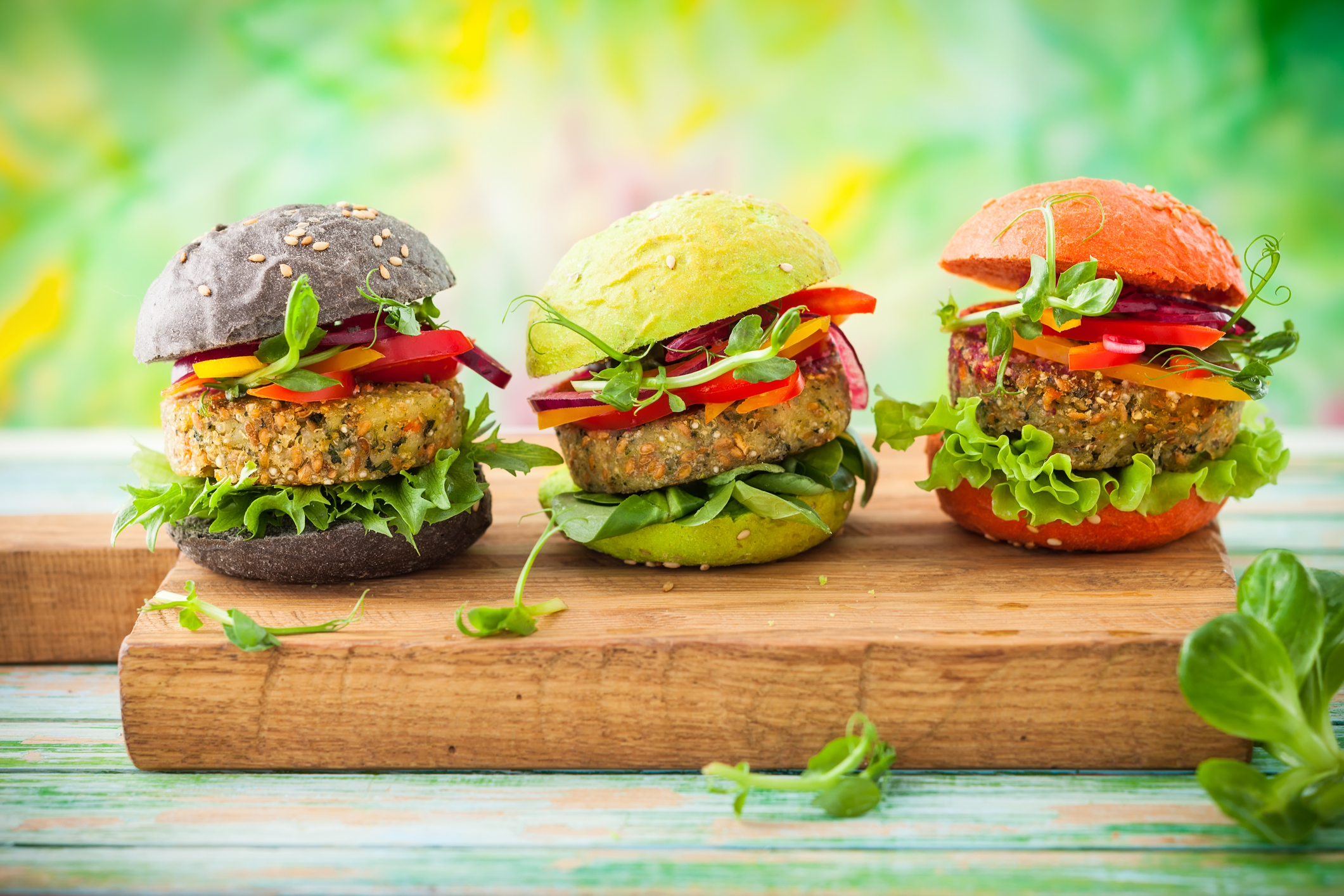 Famoso Hamburger di spinaci BL83