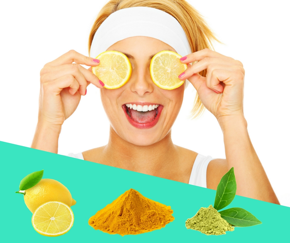 Lemon, Turmeric & Green Tea Be-A-Beauty Mask