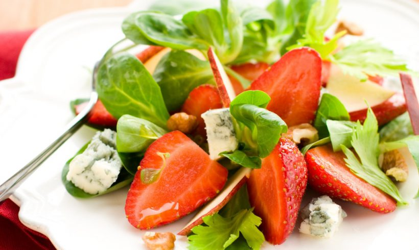 Strawberries Salad