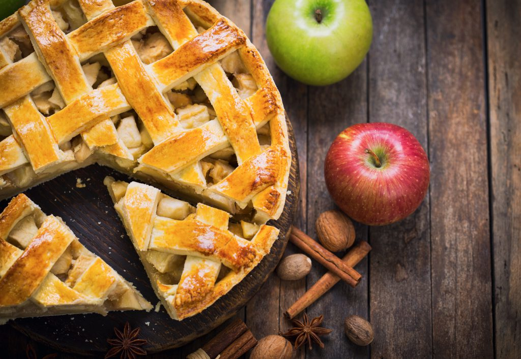 apple and figs pie