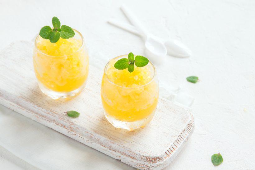 Granita al limone in 3 mosse