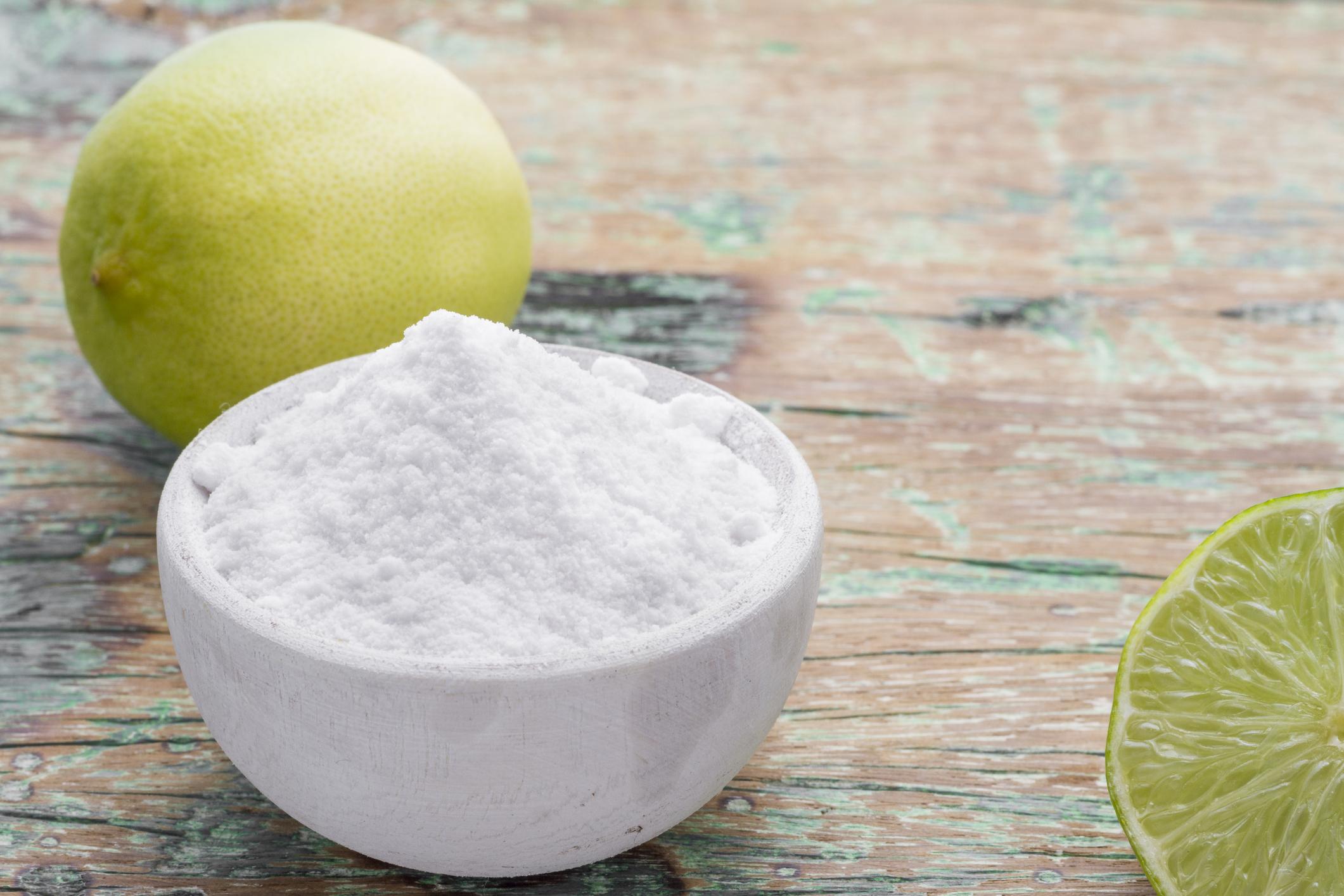 lemon & baking soda
