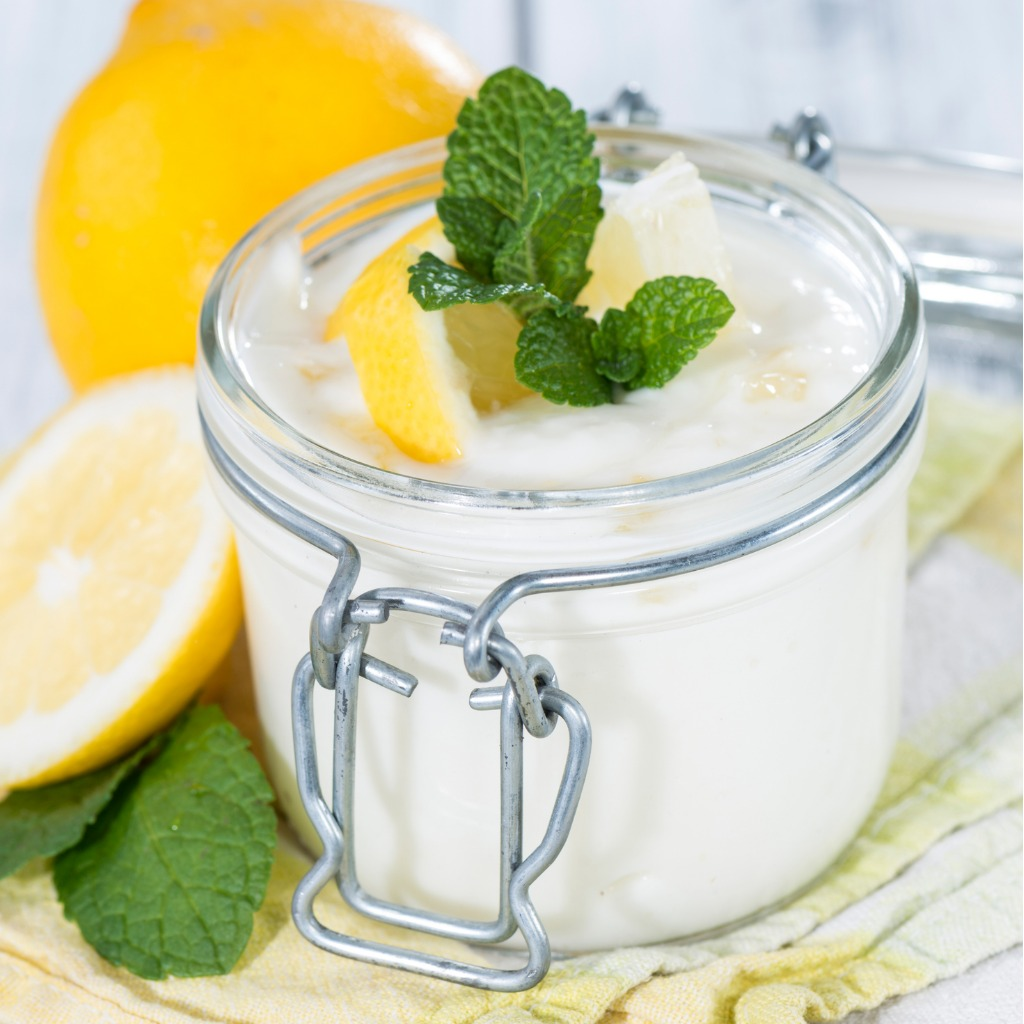 mousse mascarpone e limone