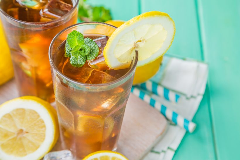 Tè freddo al limone in 3 mosse
