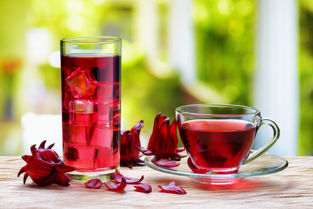 Hibiscus tea (red sorrel)