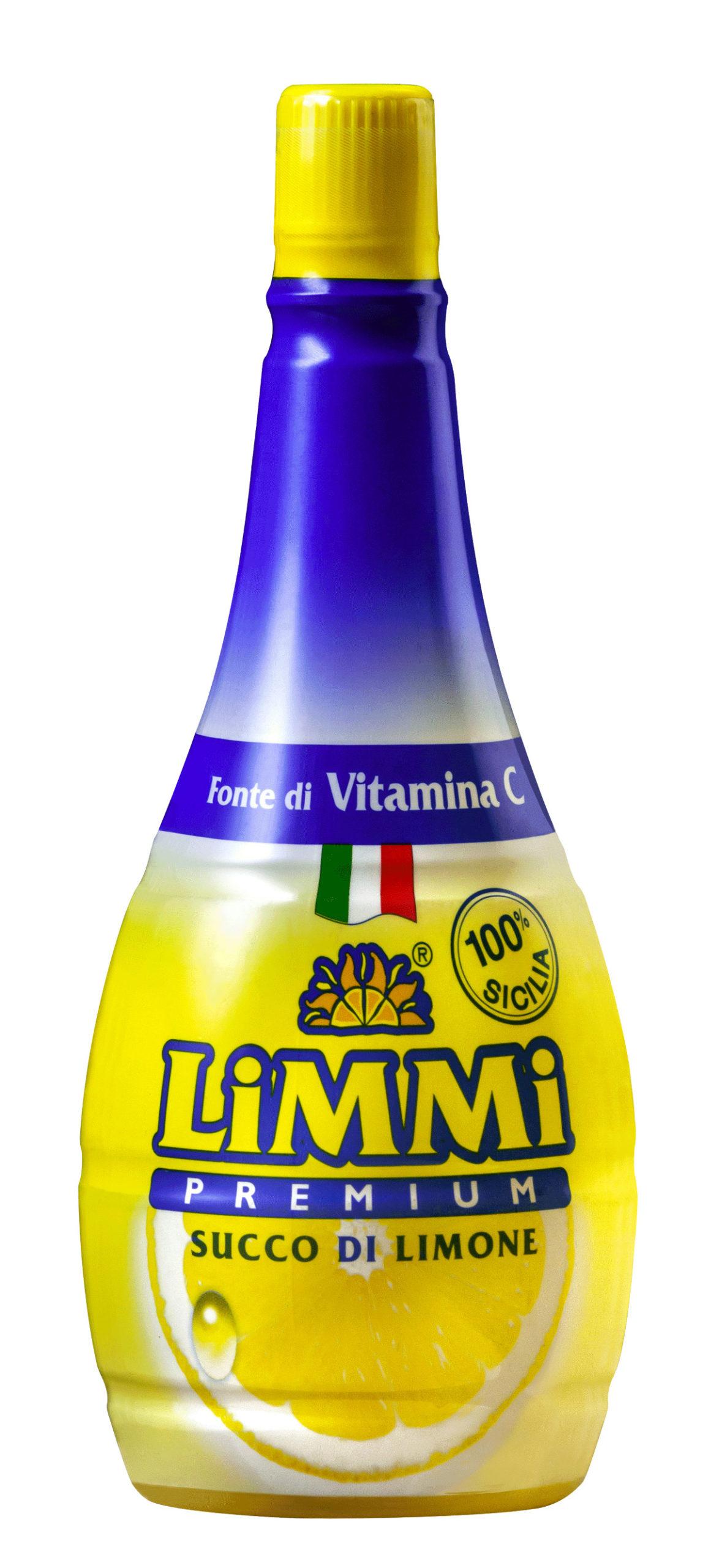 La boccetta di succo di limone Limmi Premium