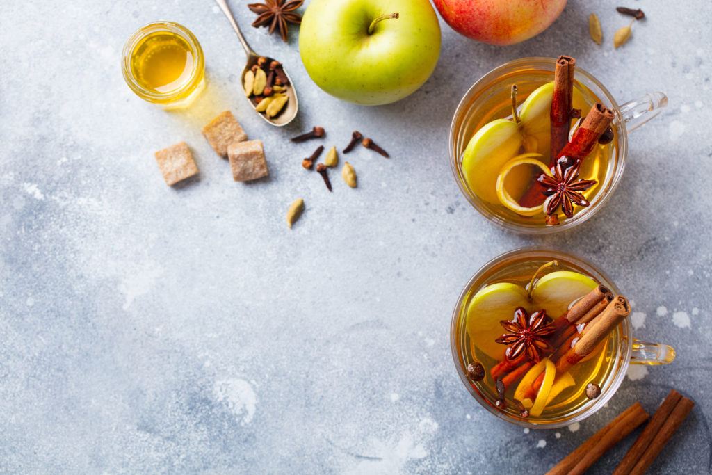 Apple Peels Tisane
