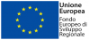 European Union - Fondo Europeo di Sviluppo Regionale logo